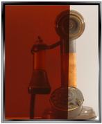 Silver Orange DIY Decorative Window Film