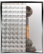 Geometric - Halographic Lens - Static Cling Window Film