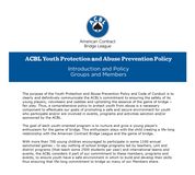 ACBL Youth Protection Policy
