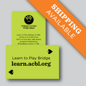 Learn to Play Bridge Handouts