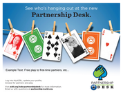 Partnership Desk Fliers