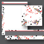 Scatter Cards Theme Materials
