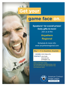 Game Face Flier (Male)