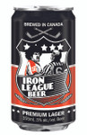 Iron League Beer Non-Alcoholic Lager - (0.5%) 24x355ml cans