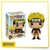 Your favorite characters from Naruto are now super-cute vinyl figures! This Naruto Pop! Vinyl Figure features the multiplying ninja from the hit anime series. Standing about 3 3/4-inches tall, this figure is packaged in a window display box. Ages 14 and up.
