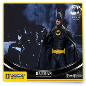 From Sideshow Collectibles and Hot Toys this figure set featuring Batman and Bruce Wayne from the classic and beloved Batman Returns!The movie-accurate Batman sixth crafted based on the image of Michael Keaton as the iconic character Batman and features a newly developed masked head sculpt with separate rolling eyeballs, interchangeable lower faces, a specially created Batsuit, highly detailed Batman gadgets, and LED light-up figure base.The movie-accurate Bruce Wayne figure is specially crafted based on the image of Michael Keaton as Bruce Wayne in the film with a newly developed head sculpt and a finely tailored suit with great details. The sixth scale collectible figure set will include a bonus broken cowl. Batman fans, don't pass up the opportunity to add the dark knight and his alter ego to your collection!