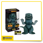 King of the Monsters gets the Hikari treatment! This Godzilla Classic Clear Premium Hikari Sofubi Vinyl Figure features your favorite giant lizard, as seen in the movie that started it all in 1954, Godzilla! Standing about 9-inches tall, this big guy is a translucent-green color and is made of a high-grade soft vinyl. Limited to only 500 pieces worldwide, this is the perfect vinyl figure for any fan of the iconic monster! Ages 14 and up.
