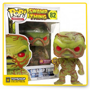 Swamp Thing glows with swamp energy! This Swamp Thing Glow in the Dark Previews Exclusive Pop! Vinyl Figure features the unlikely hero as a cute little vinyl figure! Standing about 3 3/4-inches tall, this figure is packaged in a window display box. Ages 14 and up