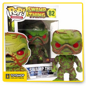 Swamp Thing gets the Pop! Vinyl treatment! This Swamp Thing Previews Exclusive Pop! Vinyl Figure features the unlikely hero as a cute little vinyl figure! Standing about 3 3/4-inches tall, this figure is packaged in a window display box. Ages 14 and up.