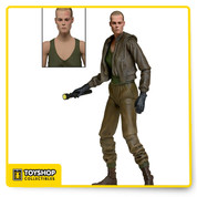 Series 8 focuses on 1992's Alien 3 Ripley in Prisoner Uniform comes with removable jacket, 2 sets of arms and flashlight and torch accessories. Each highly articulated figure stands approximately 7 inches tall.