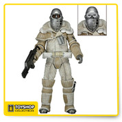 Series 8 focuses on 1992's Alien 3 Weyland Yutani Commando comes with removable goggles, custom pulse rifle and knife that fits in a boot sheath. Each highly articulated figure stands approximately 7 inches tall