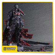 """A Batman will always exist, as the Dark Knight is Timeless."""" The TIMELESS series merges different eras and historical backgrounds with the BATMAN lore. Now a new entry joins the ranks, its concept derived from the samurai spirit of bushido, """"the way of the warrior."""" Figure also includes display stand and interchangeable hand parts. Figure Size: Approx. W 9.2"""" x D 4.1"""" x H 11"""