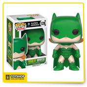 The villains of Gotham are dressing up like Batman and Batgirl! This Batman Impopster Poison Ivy Pop! Vinyl Figure features Poison Ivy's style applied to Batgirl's classic outfit. The Batman Impopster Batgirl Poison Ivy Pop! Vinyl Figure measures approximately 3 3/4-inches tall and comes packaged in a window display box. Ages 14 and up.