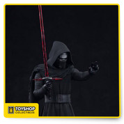 Kylo Ren ARTFX+ Statues are fun-to-assemble pre-painted snap-fit kits that can be put together easily in seconds without glue or modeling skill. Kylo Ren is perfectly scaled (1/10) to the figures in the ARTFX+ line and comes with magnets in his feet for extra stability on the included metal display base. Display this Dark Force-wielder alongside other Star Wars Episode VII: The Force Awakens figure kits from Kotobukiya!