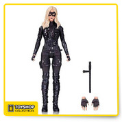 As seen in season 3 of the hit series Arrow, Laurel Lance takes up her sister's mantle to fight crime as Black Canary. The 6 1/2-inch tall Arrow TV Series Black Canary Season 3 Action Figure, based on the Warner Bros. TV show on The CW has multiple points of articulation and comes with several accessories including alternate hands and Laurel's baton. Figure measures approximately 6 1/2-inches tall. Ages 14 and up.