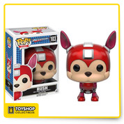 What's a hero without his faithful companion! From Capcom's video game franchise, Mega Man, comes a Pop! Vinyl Figure of the Mega Man's robotic dog, Rush. This Mega Man Rush Pop! Vinyl Figure measures approximately 3 3/4-inches tall and comes packaged in a window display box. Ages 14 and up