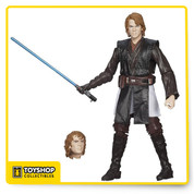 Featuring 18 points of articulation, a lightsaber hilt with a removable ignited blade, and a functional lightsaber port, the #12 Anakin Skywalker figure was only a cut and sew robe away from being the best action figure ever release of the fallen Jedi as he appeared in Revenge Of The Sith.