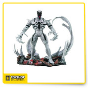 A Diamond Select Release! A Jean St Jean Sculpt! Presenting a fresh take on a classic villain, this seven-inch action figure release features a new Venom as never before! Fresh from the pages of the Amazing Spider-Man comics, Anti-Venom is featured with a deluxe symbiote base and multiple points of articulation for the character's action figure debut - making this Marvel Select release a sure-fire hit! DST produced this line of highly detailed 7-inch scale action figures based upon their most popular Marvel Superheroes. Collect them all, each sold separately.