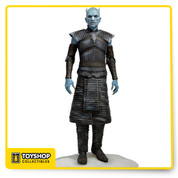 "One of the most dramatic moments in season 5 of HBO's adaptation of Game of Thrones is when the Night King, demonic leader of the White Walkers, raises the fallen Wildlings in the aftermath of the massacre at Hardhome. We have captured the sinister nature of the Night King in this highly detailed 8"" figure."