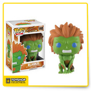 Pick your character for the ultimate street battle! Based on Capcom's best-selling video game series, Street Fighter, Blanka joins the Pop! Vinyl family. Packaged in a window display box, this Street Fighter Blanka Pop! Vinyl Figure measures approximately 3 3/4-inches tall.