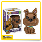 The only mystery left to solve is why you don't already have this Scooby-Doo Pop! Vinyl figure! Based on the animated franchise, collect the whole gang. This Scooby-Doo Scooby Pop! Vinyl Figure measures approximately 3 3/4-inches tall and comes packaged in a window display box.