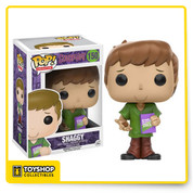 The only mystery left to solve is why you don't already have this Scooby-Doo Pop! Vinyl figure! Based on the animated franchise, collect the whole gang. This Scooby-Doo Shaggy Pop! Vinyl Figure measures approximately 3 3/4-inches tall and comes packaged in a window display box. Ages 14 and up