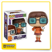 The only mystery left to solve is why you don't already have this Scooby-Doo Pop! Vinyl figure! Based on the animated franchise, collect the whole gang. This Scooby-Doo Velma Pop! Vinyl Figure measures approximately 3 3/4-inches tall and comes packaged in a window display box. Ages 14 and up