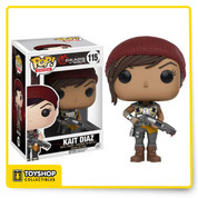 Fight off the deadly Swarm with this Gears of War Kait Pop! Vinyl Figure. There is no sleep for the wicked as Kait Diaz makes her appearance in Gears of War 4 to fight off another deadly threat, the Swarm. This Gears of War Kait Diaz Pop! Vinyl Figure stands 3 3/4-inches tall and features Kait in full battle armor with her trusty Gnasher shotgun. Ages 17 and up.