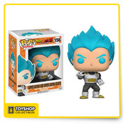 Vegeta is in his Super Saiyan God Super Saiyan form, with his blue hair showing his immense strength and calm mind! The Dragon Ball Z Resurrection F Vegeta Pop! Vinyl Figure measures approximately 3 3/4-inches tall and comes packaged in a window display box