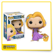 It's time for life to begin with this Disney Princess! From the hit Disney movie, the Rapunzel Pop! Vinyl figure has been redesigned wearing her beautiful purple dress. The Tangled Rapunzel Gown Version Pop! Vinyl Figure measures approximately 3 3/4-inches tall and comes packaged in a window display box. Ages 3 and up.