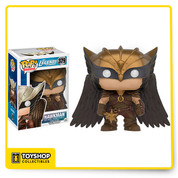 This Pop! Vinyl Hawkman figure from Legends of Tomorrow makes an awesome addition to any collection. Stands 3 and 3/4 inches tall and is rendered in Funko's signature Pop! Vinyl format. A must have for any Legends of Tomorrow fans and collectors! This collector's item is recommended for ages 14 and up.