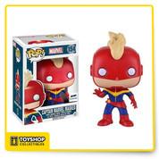Marvel: Captain Marvel Masked GTS Exclusive Pop