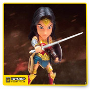 Hero Cross is pleased to announce its latest offering in the Hybrid Metal Figuration (HMF) series! Wonder Woman herself from the latest hit movie, Batman v Superman: Dawn of Justice, jumps into the world of collectible action figures!.