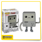 BMO Noire is given a fun, and funky, stylized look as an adorable collectible vinyl figure!