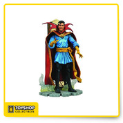 House callDoctor Strange uses a combination of powerful mystic energies and martial arts to defend our world and others. This finely detailed Marvel Select action figure is fully poseable and includes a dramatic display base.Highly detailed sculpturingIncludes display base and interchangeable weapons and headPoseable with 16 points of articulationFree standing