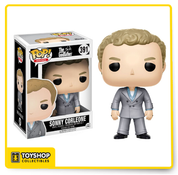 Celebrating the 45th anniversary of the iconic film The Godfather, Sonny Corleone, as a stylized POP vinyl from Funko!