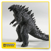 "From the blockbuster 2014 movie that relaunched the classic Godzilla franchise! this 12"" tall figure is highly detailed and fully articulated, and 24"" long from head to tail! over 25 points of articulation, bendable tail, and sound effects. This classic movie monster has never looked so good in toy form."