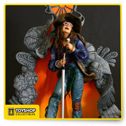 Janis Joplin, in life like sculpture from the meticulous Todd McFarlane from McFarlane Toys. It's an attitude!