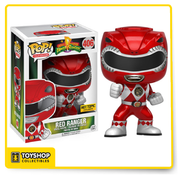Mighty Morphin Power Rangers Red Ranger Hot Topic Exclusive Pop
