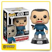 Star Wars Blue Snaggletooth Smuggler's Bounty Exclusive Pop