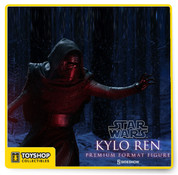 Star Wars The Force Awakens Kylo Ren Premium Format Statue Sideshow