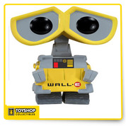 WALL-E Pop Vinyl Figure! Standing 3 3/4-inches tall, this WALL-E figure looks like a stylized, Pop! version of his on-screen, animated counterpart from the Disney movie of the same name. If you've got a Disney Pixar fan in the family you can't go wrong making the WALL-E Pop! Vinyl Figure a gift! Ages 5+