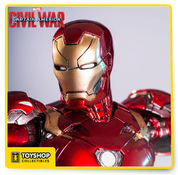Iron Man Mark XLVI Civil War 1/10 Art Scale - Iron Studios