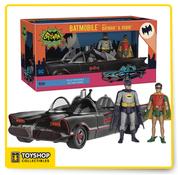Batman Classic TV Series Batmobile with Batman & Robin Funko
