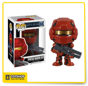 Halo 4 Spartan Warrior Red Pop
