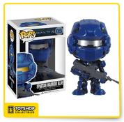 Halo 4 Spartan Warrior Blue Pop
