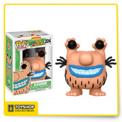 The ghastly Krumm, from Nickelodeon's classic animated series Aaahh!!! Real Monsters, is given a fun, and funky, stylized look as a somewhat adorable collectible Pop! vinyl figure from Funko!