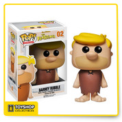 It's yabba-dabba-doo time when you pick up this Barney Rubble Pop! Vinyl figure! As the best buddy of Fred Flintstone, Barney Rubble always got pulled into one of Fred's hair-brained get-rich-quick schemes to no luck. The lovable and loyal Barney Rubble stands 3 3/4-inches tall in a window display package. Barney Rubble comes in his brown outfit, just like you remembered him in The Flintstones!