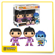 DC Super Heroes Wonder Twins Summer Convention Exclusive Pop