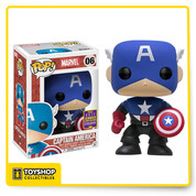 Marvel Bucky Captain America 06 SDCC Pop